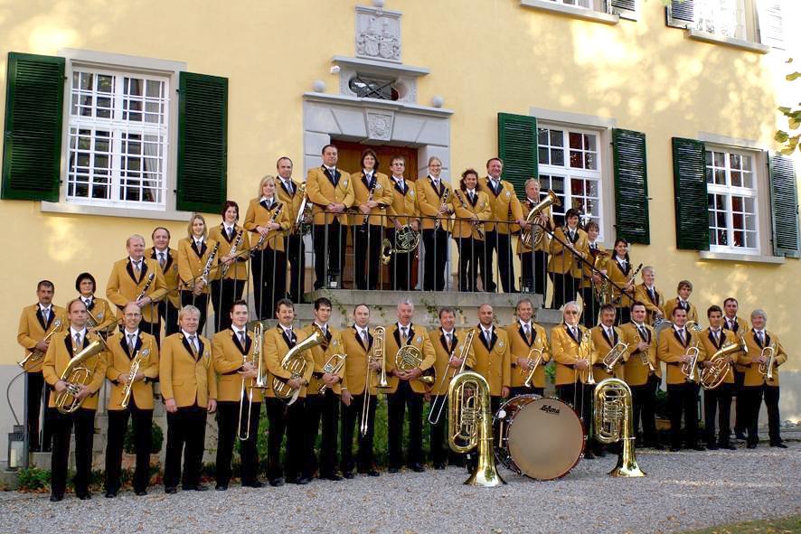 Die Musikkameradschaft im Jubiläumsjahr 2010